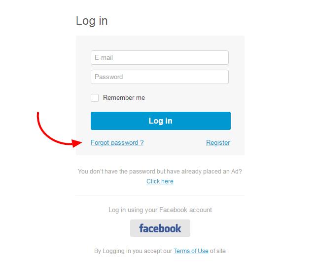 help with my password